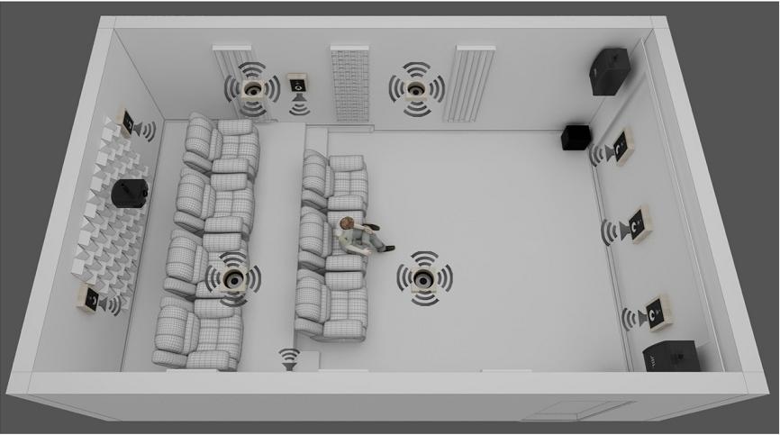 影院立面参考效果图-吸声-扩声1